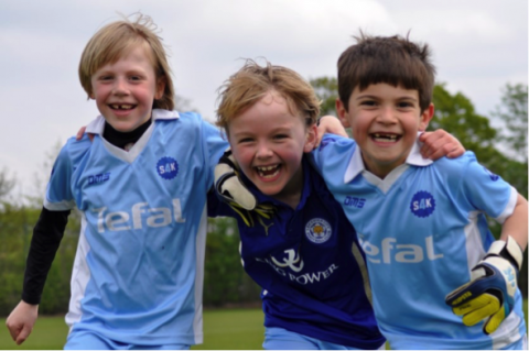 Kids' sport boosts self-esteem, learning and life skills